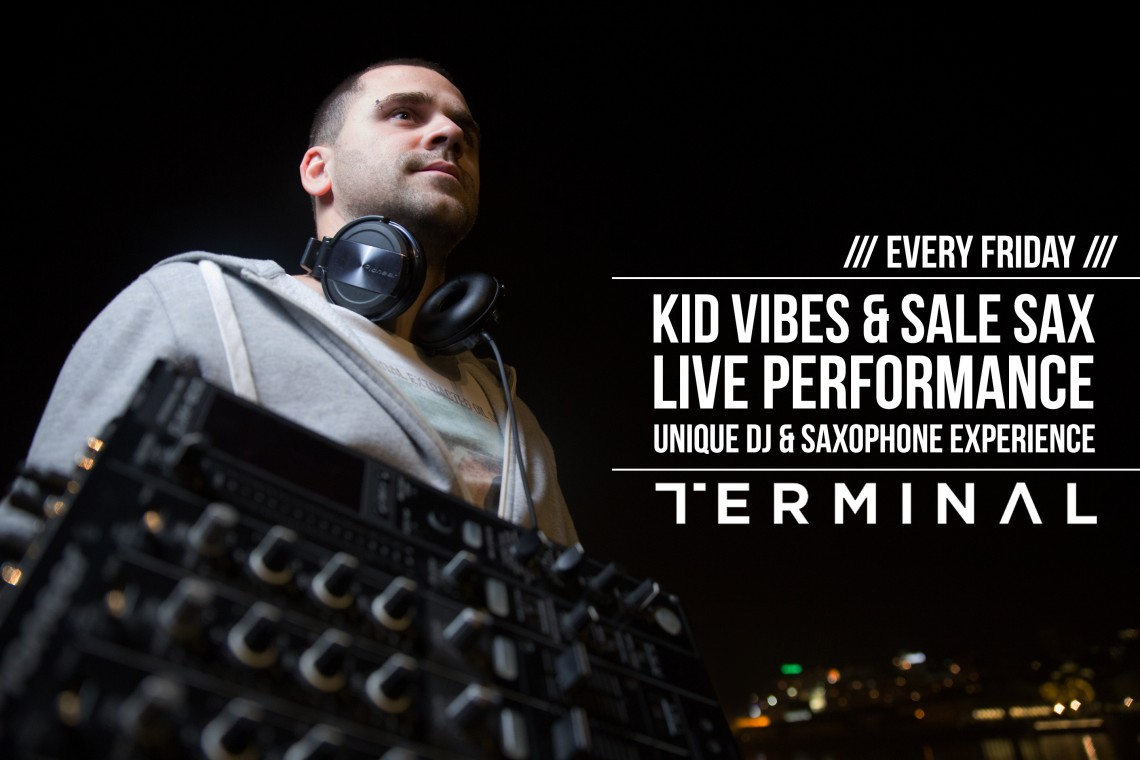 Kid Vibes & Sale Sax Live Experience