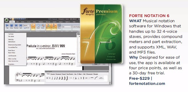 Forte - Notation 6