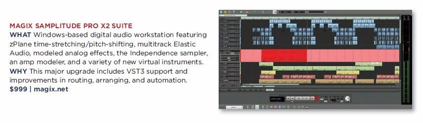 Magix - Samplitude Pro X2 Suite