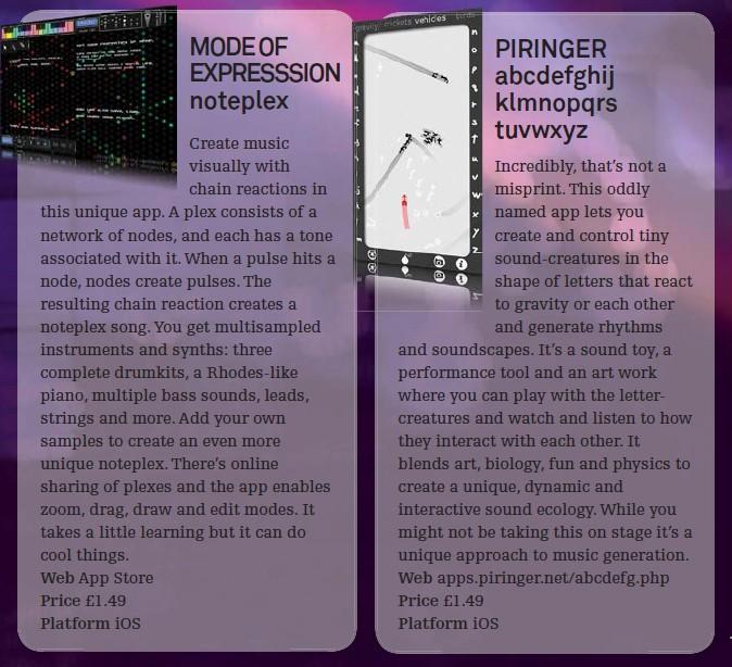 Mode Of Expresssion noteplex<br />Piringer abcdefghijklmnopqrstuwxyz