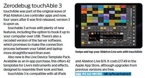 Zerodebug - touchAble 3