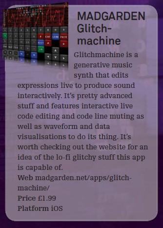 Madgarden Glitch - machine