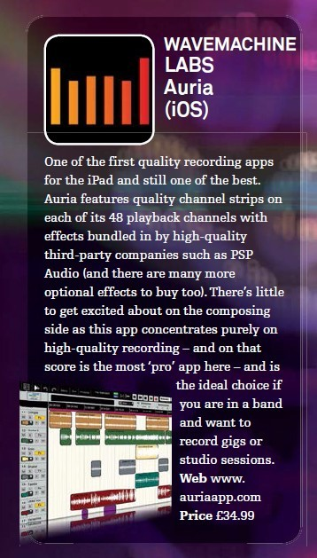 Wavemachine Labs - Auria (iOS)