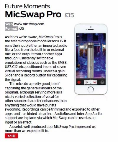 Future Moments - MicSwap Pro