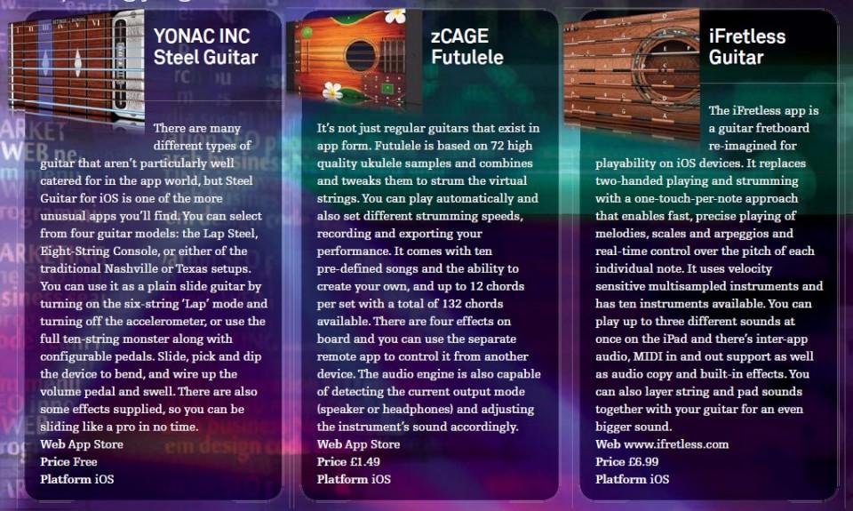 Yonac INC Steel Guitar<br />zCage Futulele<br />iFretless Guitar