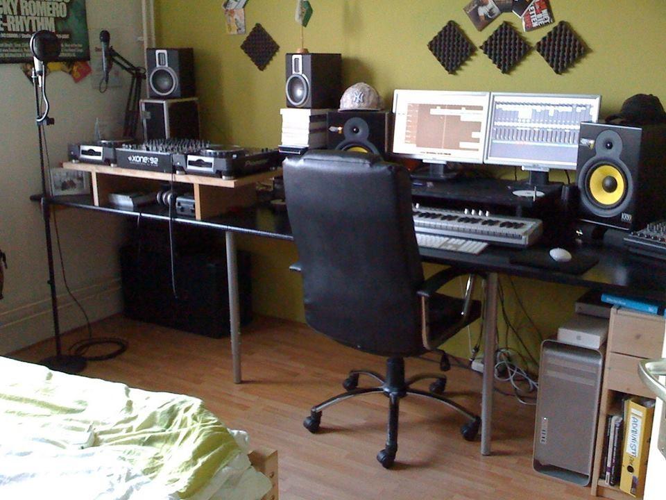 Nicky Romero Studio 2009