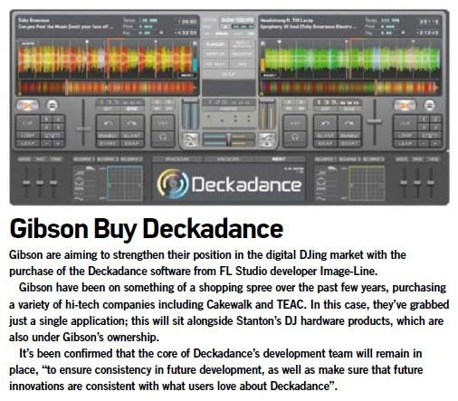 Gibson Buy Deckadance