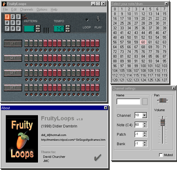 Fruity Loops - Version 1 :)