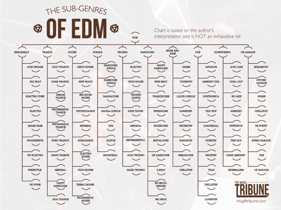 The Sub-Genres OF EDM