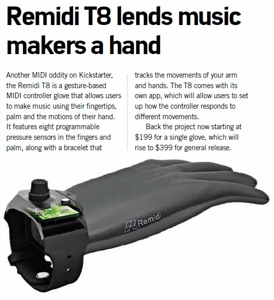 Remidi t8 lends music makers a hand