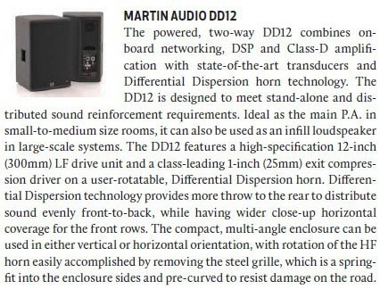 Martin Audio DD12