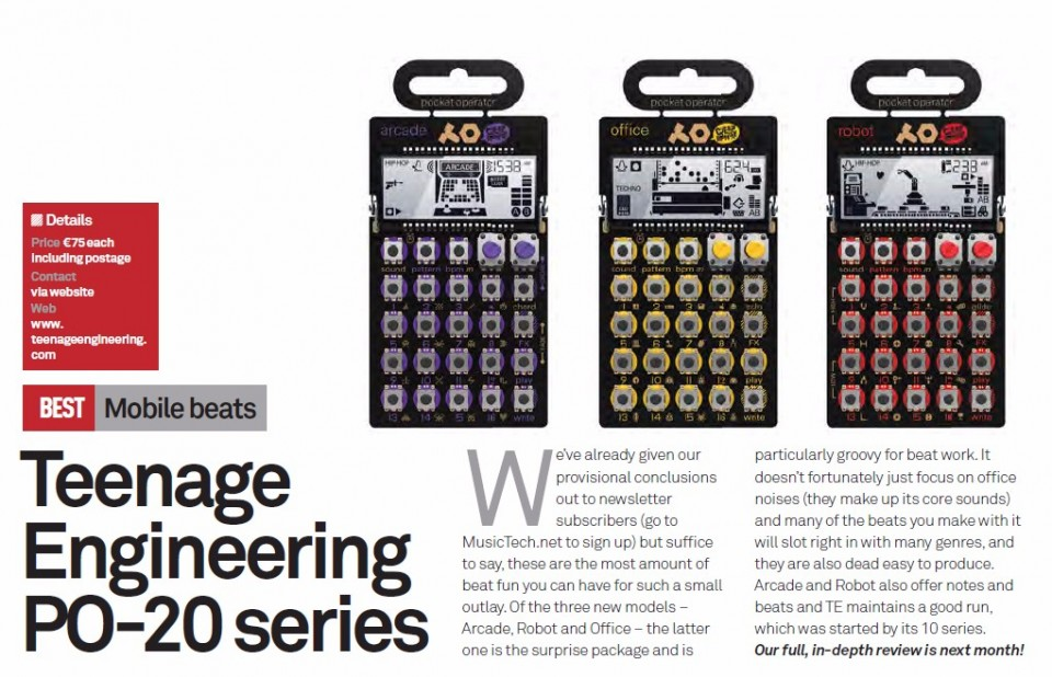Teenage Engineering PO-20 series