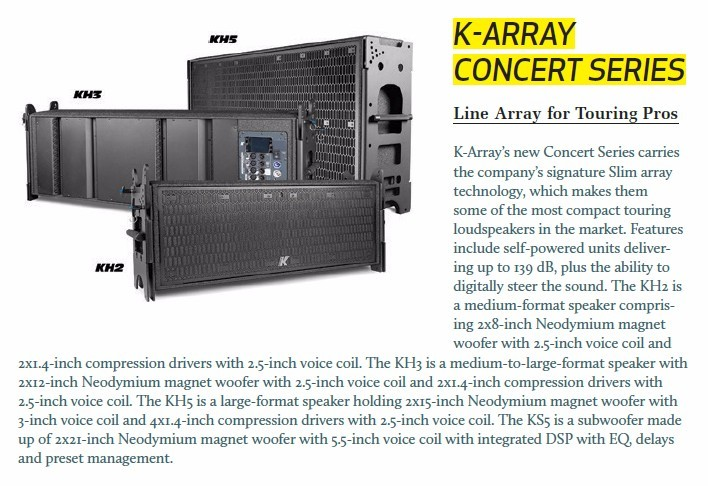 K-Array Concert Series