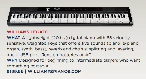 Williams Legato