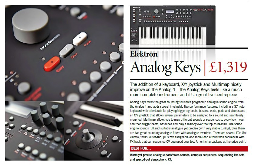 Elektron - Analog Keys