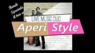 AMBIENT lounge party MUSIC by Aperi Style live music duo