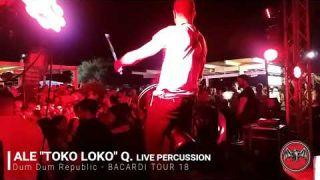 HOUSE SUMMER MUSIC - live percussion alessandro Toko Loco querzoli Dum Dum Republic