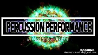 live PERCUSSION top CLUBS house MUSIC alessandro querzoli BEST percussionist