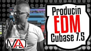 Producing EDM with big kicks on Cubase 7.5
