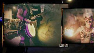 House tech Electro percussion Fuego show